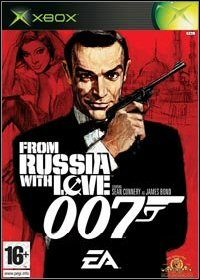 007 James Bond: From Russia with Love (XBOX) - okladka