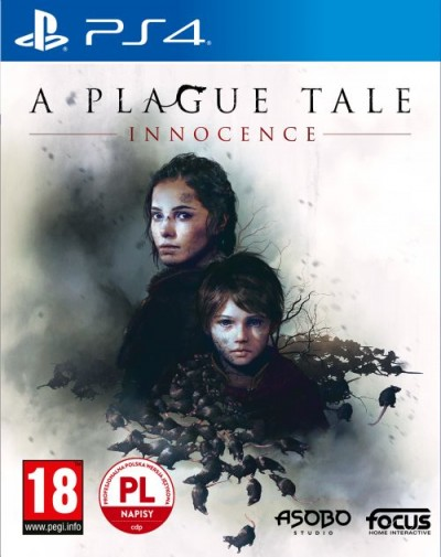 A Plague Tale: Innocence (PS4) - okladka
