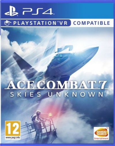 Ace Combat 7: Skies Unknown (PS4) - okladka
