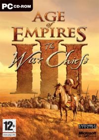 Age of Empires 3: The WarChiefs (PC) - okladka