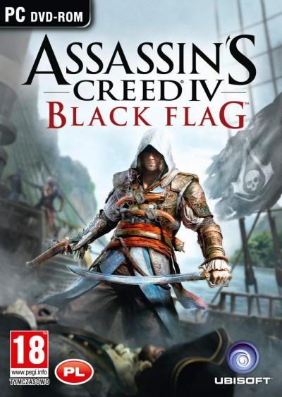 Assassin's Creed IV: Black Flag (PC) - okladka