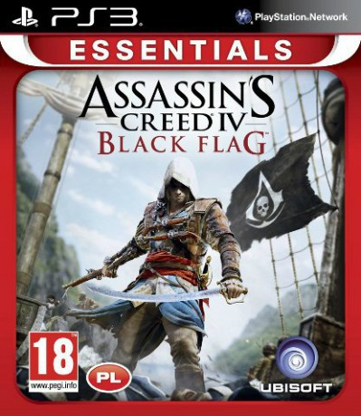 Assassin's Creed IV: Black Flag (PS3) - okladka