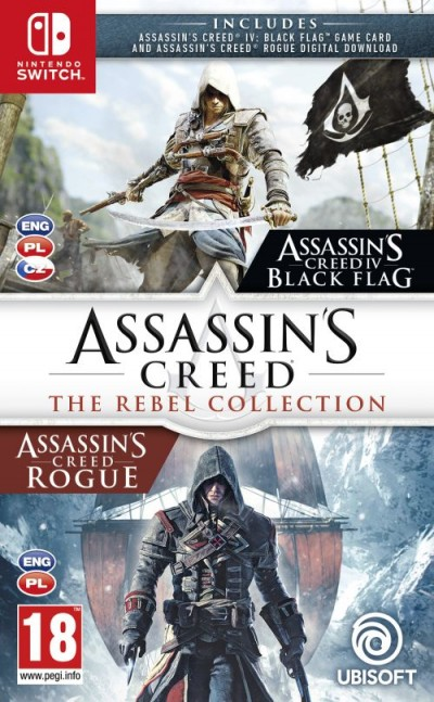 Assassin's Creed: The Rebel Collection (SWITCH) - okladka