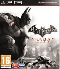 Batman: Arkham City (PS3) - okladka