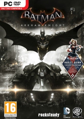 Batman: Arkham Knight (PC) - okladka