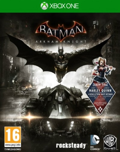 Batman: Arkham Knight (Xbox One) - okladka