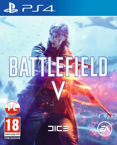 Battlefield V (PS4) - okladka