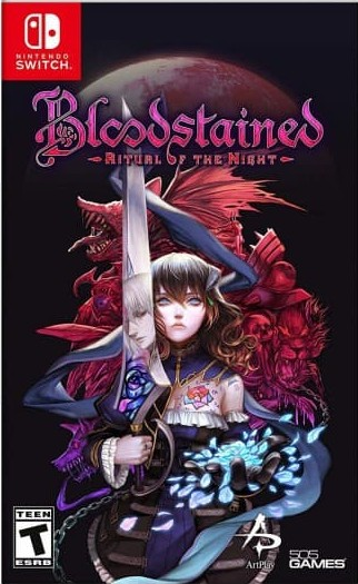 Bloodstained: Ritual of the Night (SWITCH) - okladka