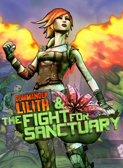 Borderlands 2: Commander Lilith and The Fight For Sanctuary (PC) - okladka