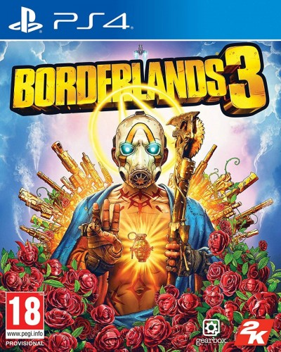 Borderlands 3 (PS4) - okladka