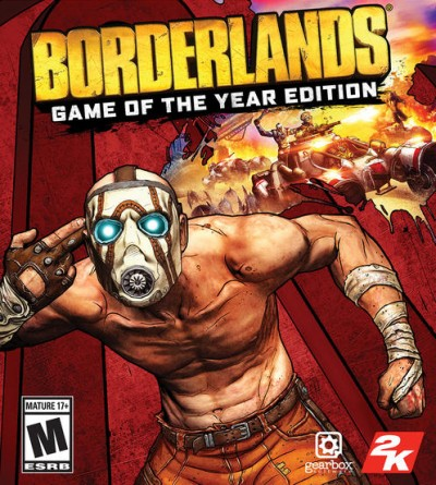 Borderlands: Game of the Year Edition (PC) - okladka