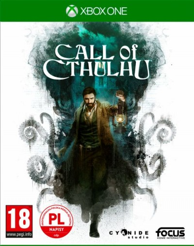 Call of Cthulhu (Xbox One) - okladka