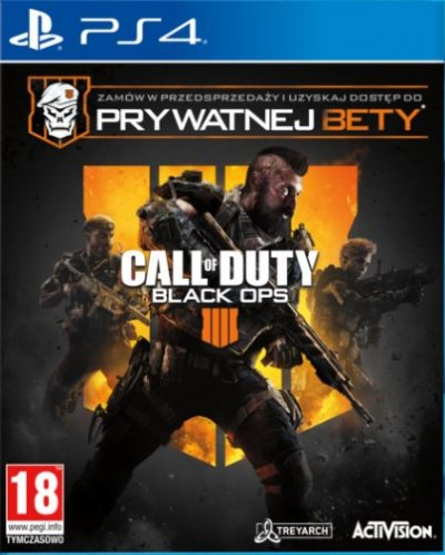Call of Duty: Black Ops 4 (PS4) - okladka