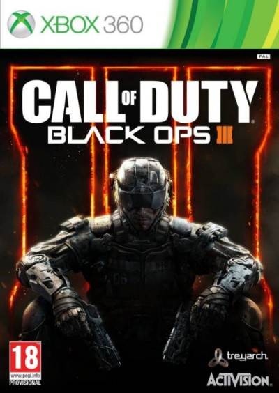 Call of Duty: Black Ops III (Xbox 360) - okladka