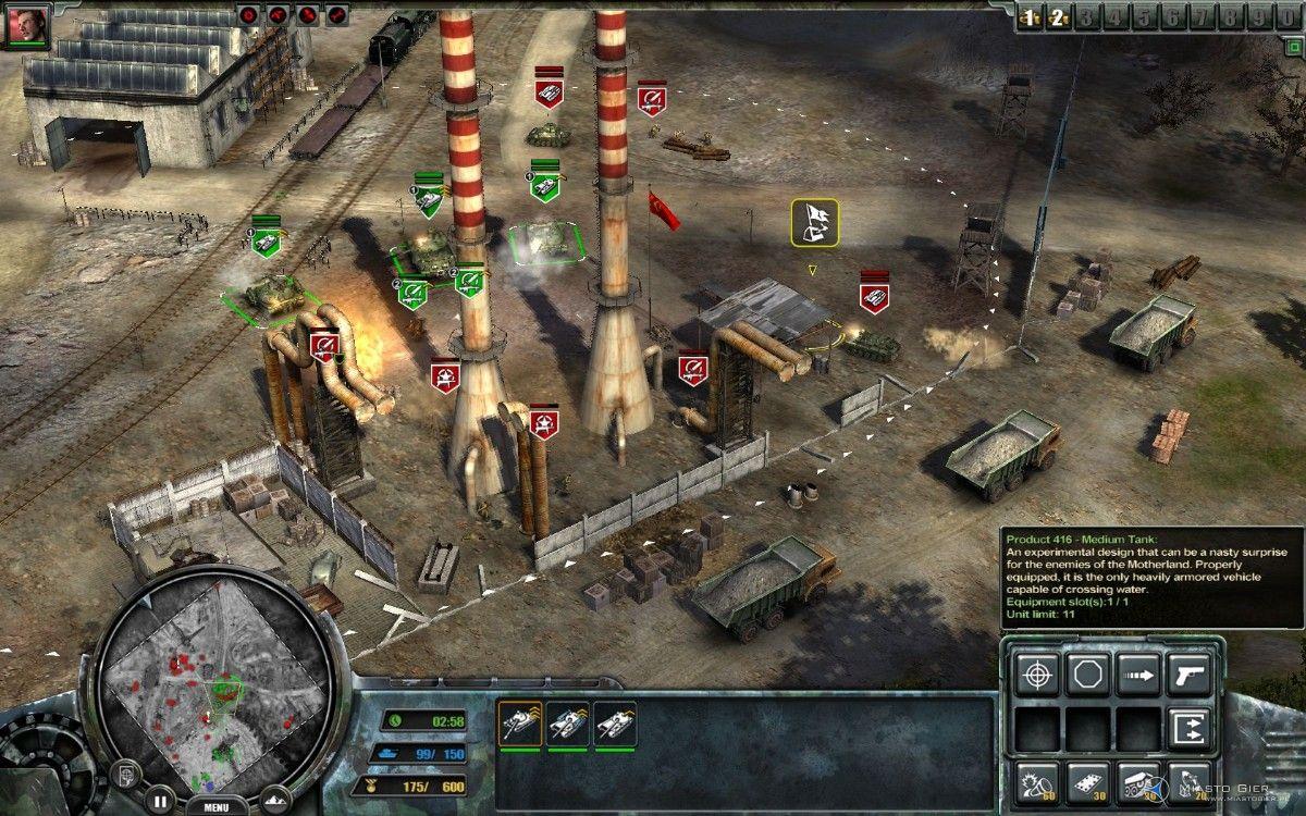 Recenzja gry Codename: Panzers - Zimna Wojna PC