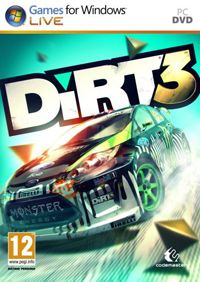 DiRT 3 (PC) - okladka