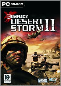 Conflict: Desert Storm II - Back to Baghdad (PC) - okladka
