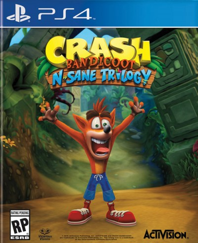 Crash Bandicoot N. Sane Trilogy (PS4) - okladka