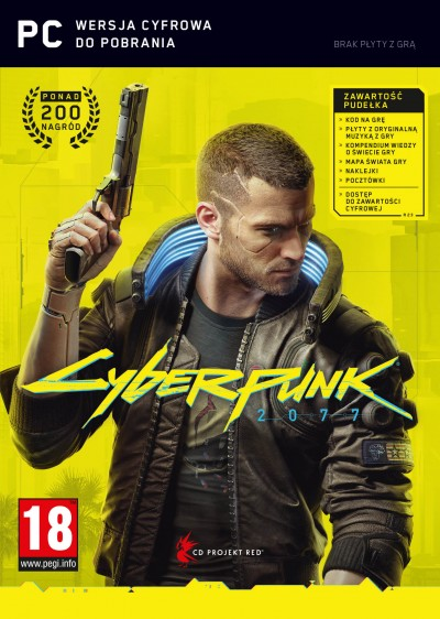 Cyberpunk 2077 (PC) - okladka