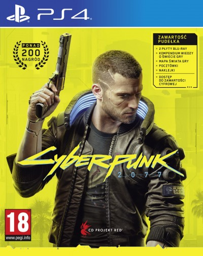Cyberpunk 2077 (PS4) - okladka