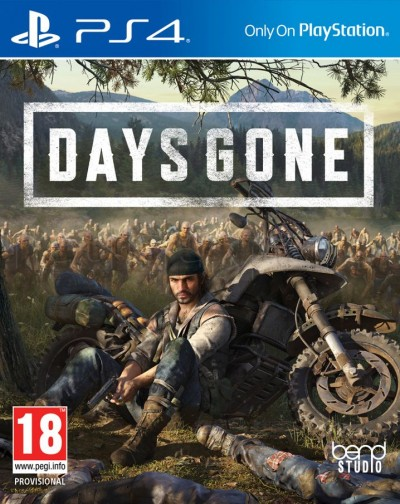Days Gone (PS4) - okladka