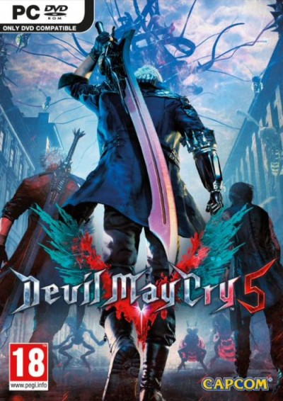 Devil May Cry 5 (PC) - okladka