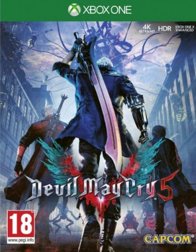 Devil May Cry 5 (Xbox One) - okladka