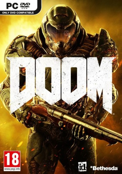 DOOM 2016 (PC) - okladka