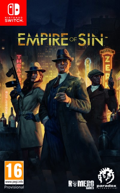 Empire of Sin (SWITCH) - okladka