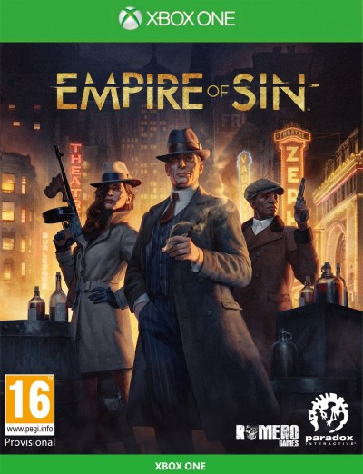 Empire of Sin (Xbox One) - okladka