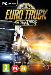 Euro Truck Simulator 2 (PC) - okladka