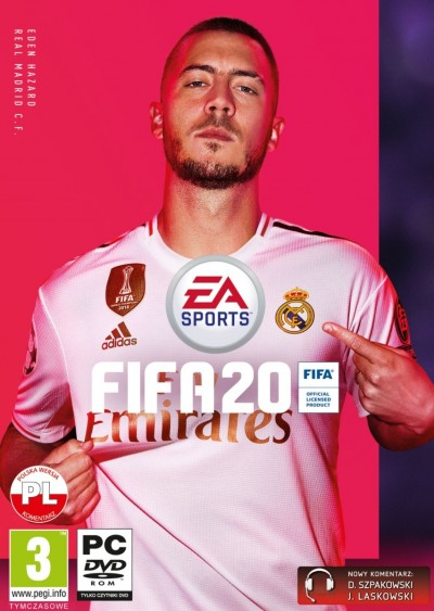 FIFA 20 (PC) - okladka