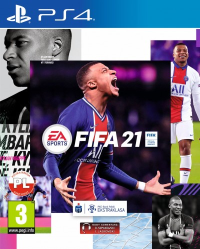 FIFA 21 (PS4) - okladka