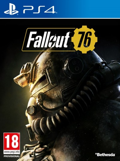 Fallout 76 (PS4) - okladka