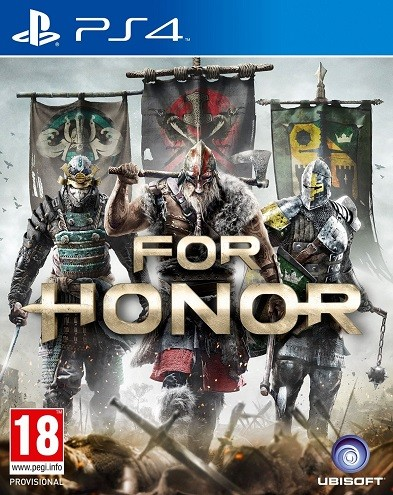 For Honor (PS4) - okladka