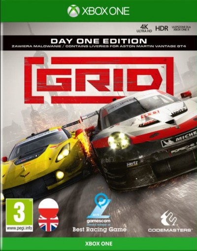 GRID (Xbox One) - okladka