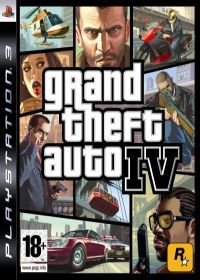 Grand Theft Auto IV (PS3) - okladka