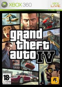 Grand Theft Auto IV (X360) - okladka