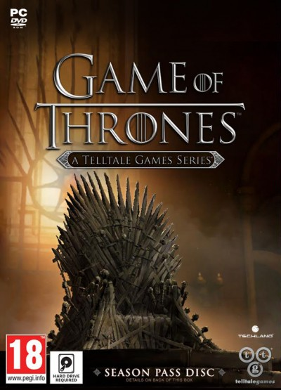Game of Thrones: A Telltale Games Series (PC) - okladka