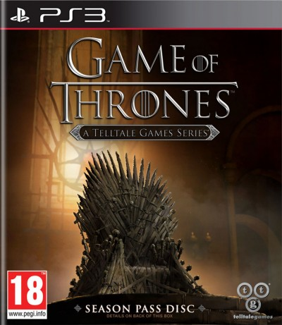 Game of Thrones: A Telltale Games Series (PS3) - okladka