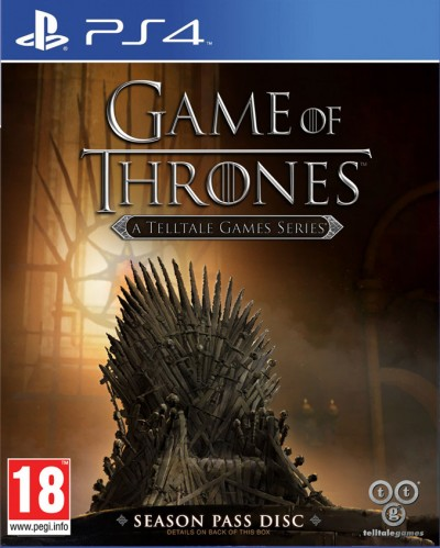 Game of Thrones: A Telltale Games Series (PS4) - okladka