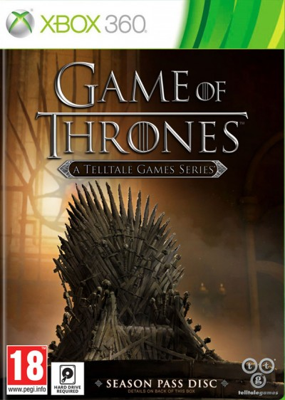 Game of Thrones: A Telltale Games Series (Xbox 360) - okladka