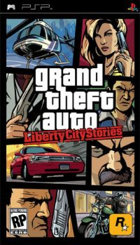 Grand Theft Auto: Liberty City Stories (PSP) - okladka
