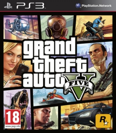 Grand Theft Auto V (PS3) - okladka
