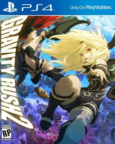 Gravity Rush 2 (PS4) - okladka