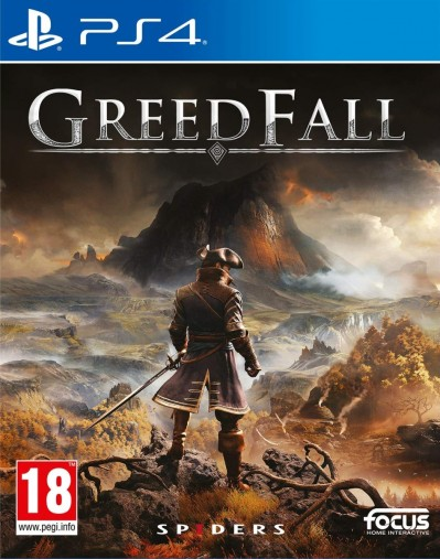 Greedfall (PS4) - okladka
