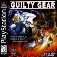 Guilty Gear (PSX) - okladka