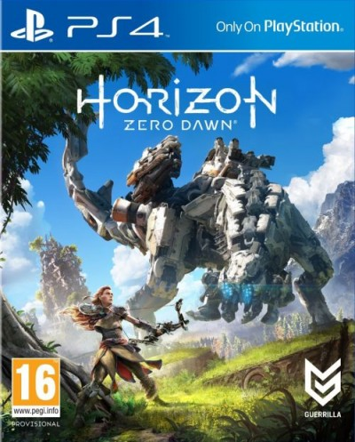 Horizon: Zero Dawn (PS4) - okladka