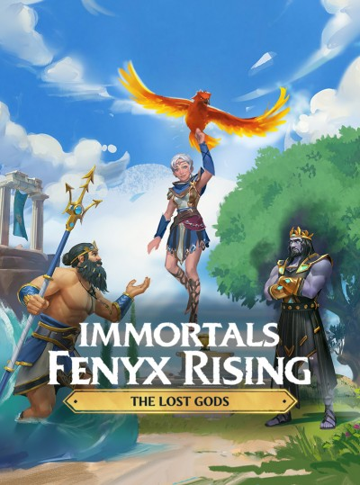 Immortals: Fenyx Rising - Zagubieni Bogowie (PS4) - okladka