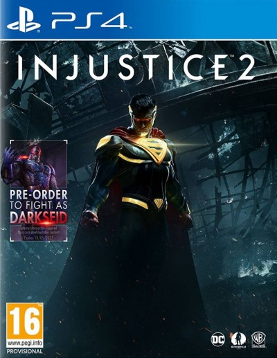 Injustice 2 (PS4) - okladka